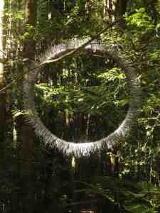Circle sculpture